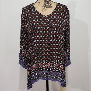 World Market Boho blouse